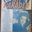 Hit Parader October 1943 Fay McKenzie Songbook Sheet Music