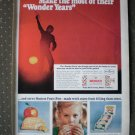 Wonder Years Bread Hostess Fruit Pies Vintage Ad 1968