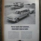 Chevrolet Suburban Fleetside Custom Camper Pickup 1968 Vintage Ad