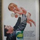 Cold Power Laundry Detergent Cindy Pinkstaff Vintage Ad 1968