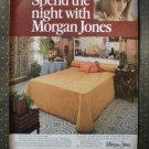 Morgan Jones Miramar Bedspread Springmaid Vintage Ad 1968