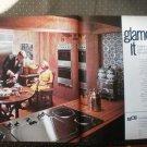 Southern California Edison Glamorize Kitchen Design Vintage Ad 1968