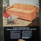 Hide a Bed Sofa Simmons Sutter Vintage Ad 1968