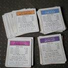 Monopoly Title Deeds Complete 28 Cards Vintage