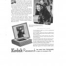 Kodak Research Minicolor Prints Kodachrome Vintage Ad 1944