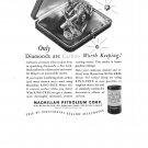 Macmillan Petroleum Corp Ring Free Motor Oil Vintage Ad 1944