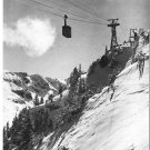 Vintage Postcard Tatry Poland Cable Car Kuznice Kasprowy Wierch
