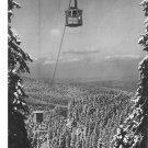 Vintage Postcard Zakopane Poland Cable Car Mylenickie Turnie Kasprowy