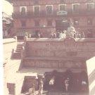 Vintage Photograph Water Hole Kathmandu Nepal 1968
