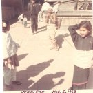 Vintage Photograph Nepalese Child City Nepal 1968