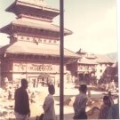 Vintage Photograph Temple Kathmandu  Nepal 1968