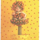 Anne Geddes Postcard 1995 Baby 605-096 Orange Tree 4x6