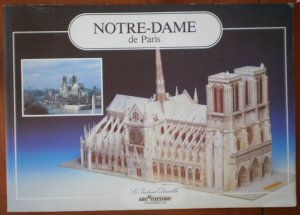 Notre Dame de Paris Architectural Model L'Instant Durable Book Modelisme