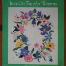 American Wildflower Iron On Transfer Patterns Claire Bryant Book Dover Needlework