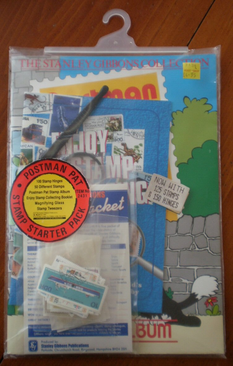 Stanley Gibbons Collection Postman Pat Starter Pack 125stamps