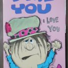 Happiness Cards Vintage Greeting Friendship I Love You 25C3436