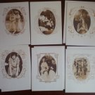 Virginia Slims Collection Note Cards Blank Sepia Photos Lot 10