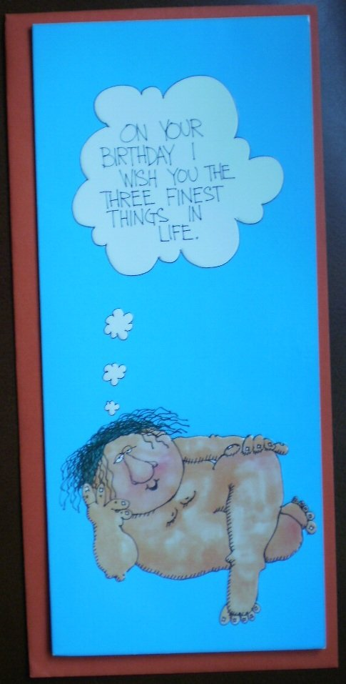 Birthday Card Vintage Roger Alan Ltd England Finest Things in Life