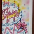 Birthday Card Vintage Kalan Good Gumor Combination Get Well