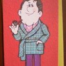 Birthday Card Husband Punchlines American Greetings Vintage Pin-up Guy