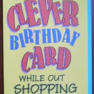 Birthday Card Clever Car Tires Hallmark Contemporary Vintage