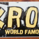 KROQ Sticker 106.7 World Famous 2002 Rock Station Los Angeles
