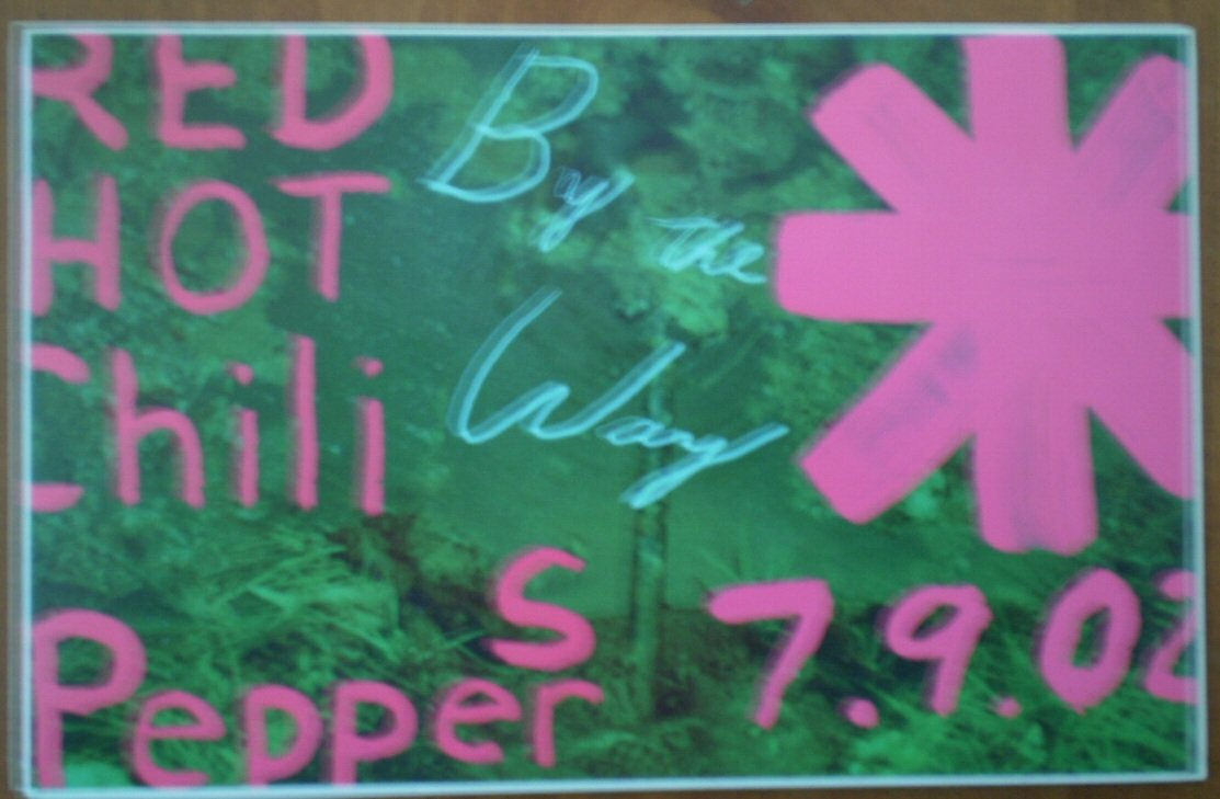 Red Hot Chili Peppers By The Way Sticker 2002