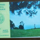 Vintage Golf Scorecard Torrey Pines Municipal Course San Diego North photo score card