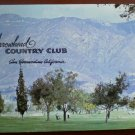 Vintage Golf Scorecard Arrowhead Country Club San Bernardino CA score card