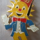 Al Malaikah Pin Shriner Temple Los Angeles Derrick Paine Potentate Sun 1981 Enamel