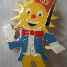 Al Malaikah Pin Shriner Temple Los Angeles Derrick Paine Potentate Sun 1981 Enamel