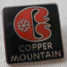 Copper Mountain Ski Resort Pin Colorado Vintage Enamel silvertone Metal