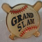 California Lottery Grand Slam Baseball Pin Enamel Goldtone Metal State