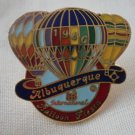Albuquerque Balloon Fiesta Pin 1986 International Enamel Goldtone Metal