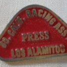 Southern California Racing Association Press Pin Los Alamitos Vintage Metal