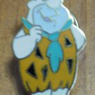 Fred Flintstone Hanna Barbera Pin Enamel 1988 Goldtone Metal
