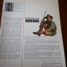 Winchester Western Catalog 1963 Safari Missing Cover