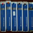 Staedtler Mars Lumograph Lead 4H 3H 2H B Vintage Lot Plastic Box