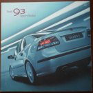 Saab 9-3 Sport Sedan Catalog Brochure 2005