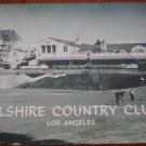 Vintage Golf Scorecard Wilshire Country Club Los Angeles CA 1969