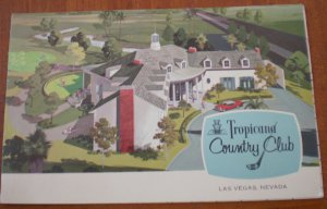 Vintage Golf Scorecard Tropicana Country Club Las Vegas NV