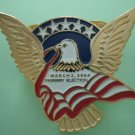 Primary Election Pin 2004 Eagle Imagine Pins Goldtone