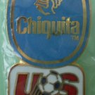US World Cup Team Pin Chiquita Sponsor Soccer ©1991 McGillvray