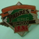 Eric Show Pin San Diego Padres All Time Victory Leader Kay Jewelers
