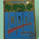 Telethon 1989 MDA KTLA Los Angeles 5 Goldtone Metal