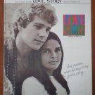 Love Story Where Do I Begin Sheet Music Carl Sigman Francis Lai 1971