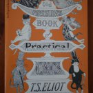 Old Possum&#39;s Book of Practical Cats TS Eliot 1982 Harcourt Paperback