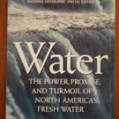 Water National Geographic Special Edition with Supplement 1993