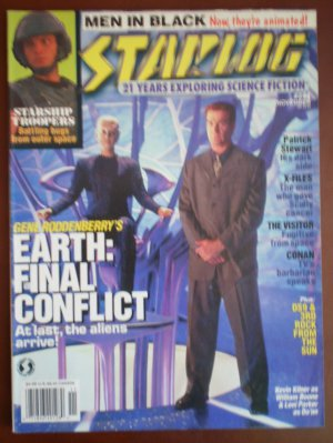 Starlog 244 November 1997 Men In Black Earth Final Conflict Patrick Stewart