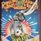 Souvenir Program Ringling Bros Barnum Bailey Circus King Tusk 1987 117th Edition